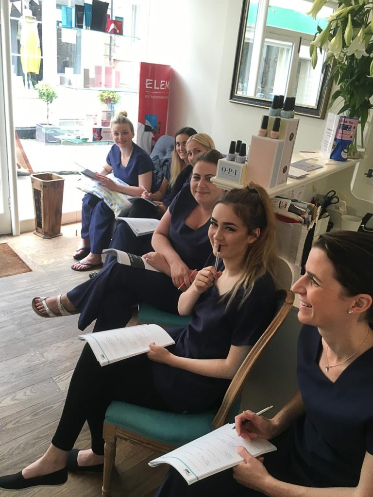 Beauty Salon Staff Training Day