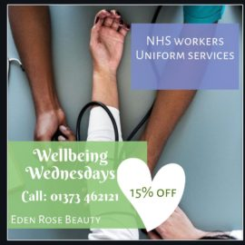 Wellbeing Wednesday Eden Rose Beauty